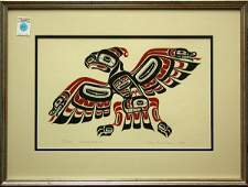 418 Serigraphs Northwest Coast Indian Trad Designs