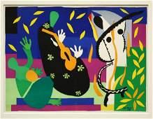 446 lithograph Henri Matisse La Tristesse du Roi