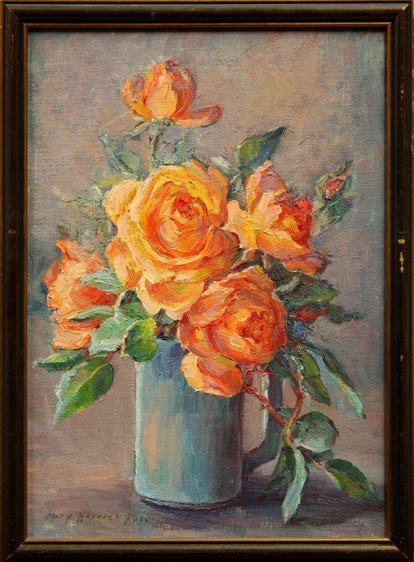 6001: Painting, Mary Herrick Ross, Roses