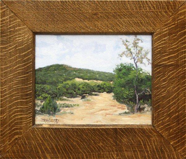 6003: Painting, JD Rasberry, Landscape
