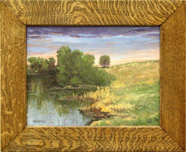 6004: Painting, J.D. Rasberry,
