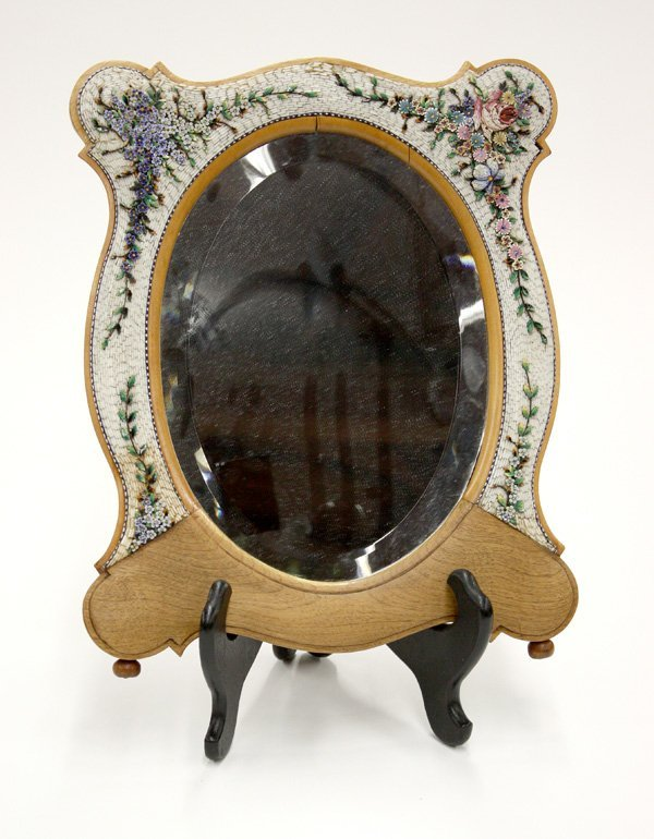 6010: Mirror, Italian micro mosaic