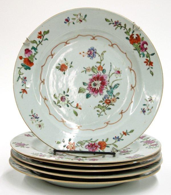 6015: Chinese Export ceramic plates