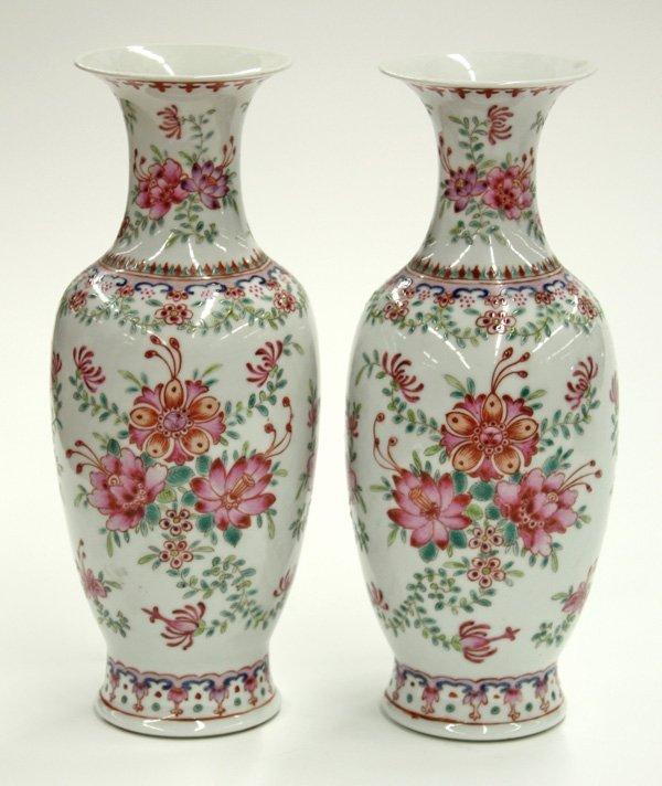 6016: Chinese Polychrome Vases