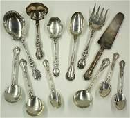 6590: Sterling silver flatware