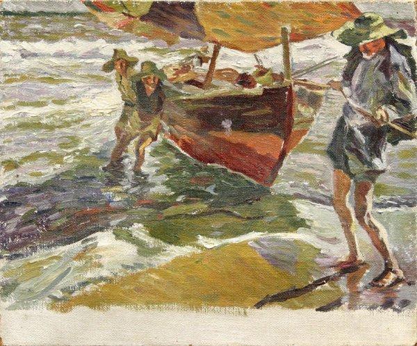 4004: Painting style of Armin Hansen