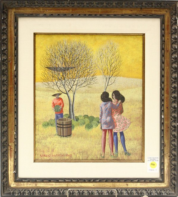 4006: Painting, Agostini, Italian