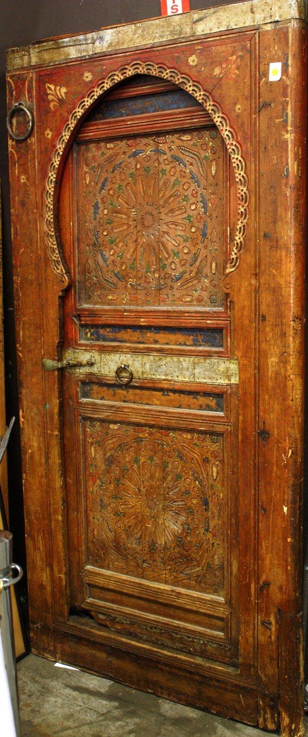 4009: Moroccan door