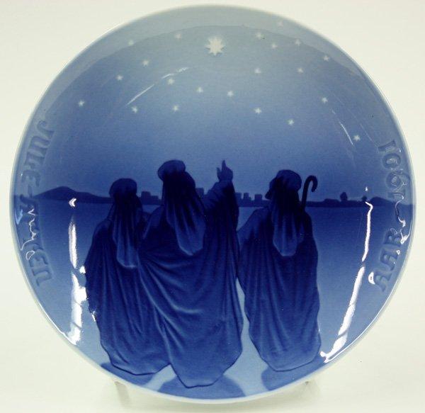 4012: Bing & Grondahl Christmas plates