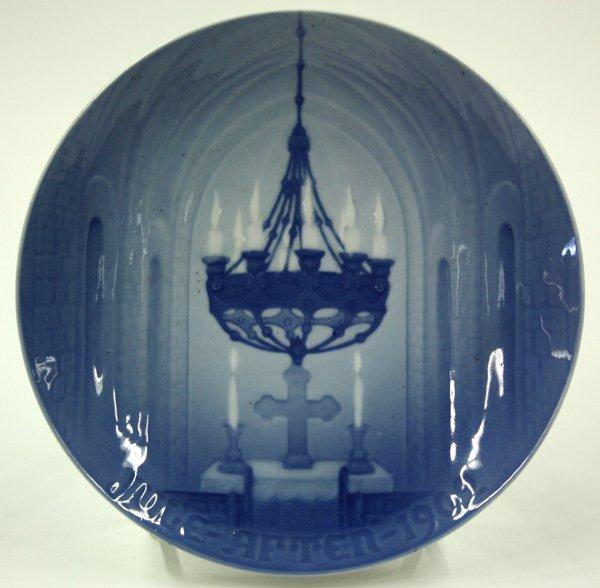 4013: Bing & Grondahl Christmas plates