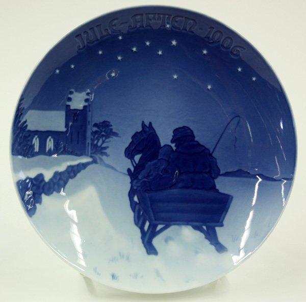 4015: Bing & Grondahl Christmas plates