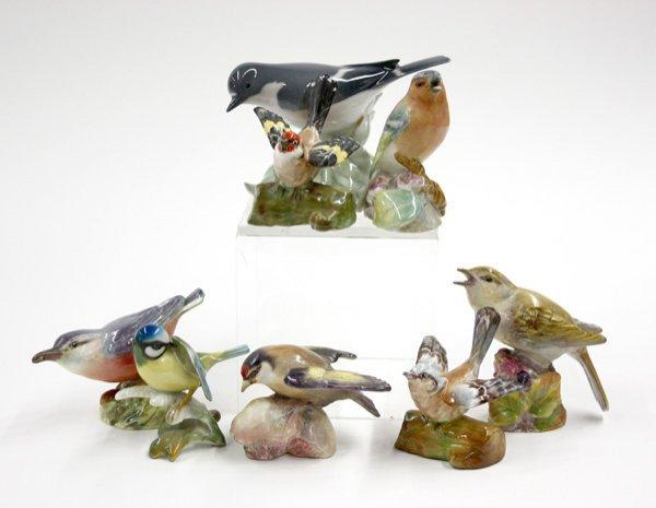 4016: Porcelain birds