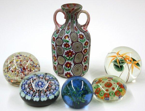 4023: Art glass paperweights