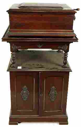 A Victorian Regina music box