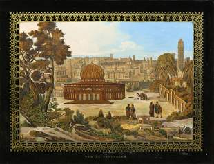 Mixed Media, View of Jerusalem