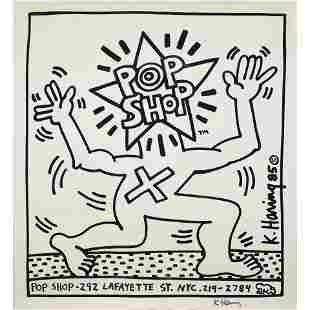 Poster, After Keith Haring