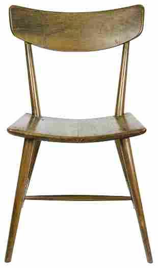 A Wharton Eshrick style Mid-Century Modern side chair,