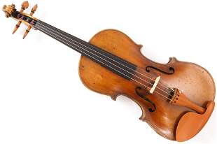 A German full size violin labelled Aschauv