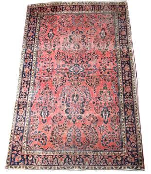 """Turkish Oushak style carpet, 11'2"""" x 17'7"""""""