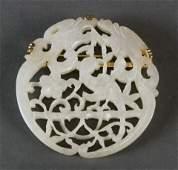 Chinese celadon jade pendant