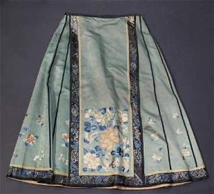 Chinese embroidered skirt
