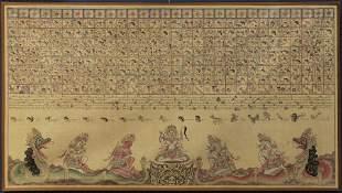 Anonymous Balinese artist (20th century), Hindu deities