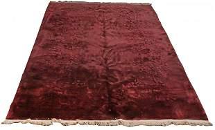 An Art Deco Harkraft sculpted carpet