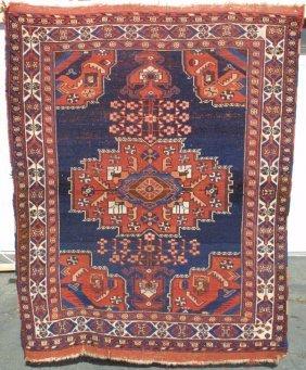 104: Afshar Medallion Rug Carpet