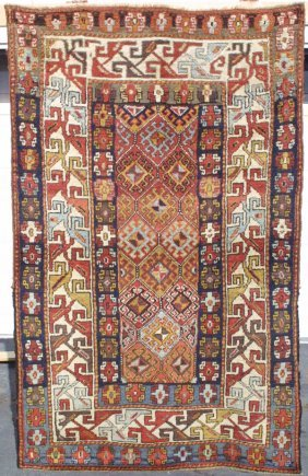 105: Zakatala Kazak Rug Carpet