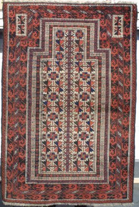 Baluch Tree Of Life Prayer Rug Carpet