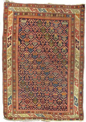 114: Caucasian Shirvan Rug Carpet