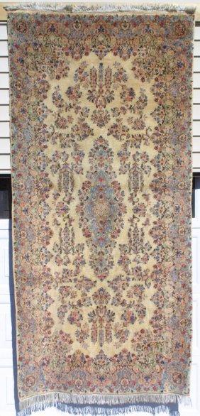 115: Kirman Corridor Rug Carpet