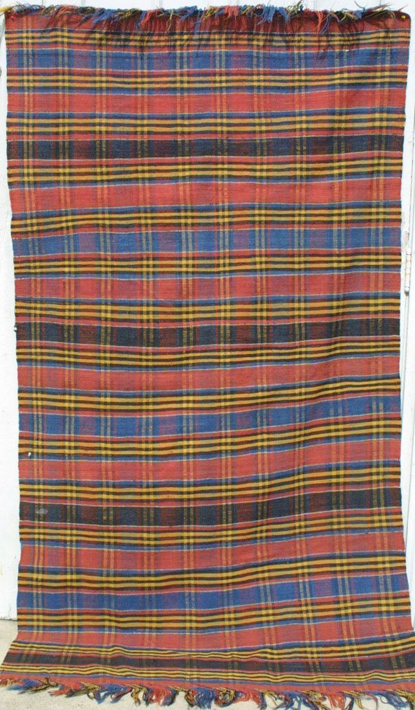 120: Shahsavan Striped Kilim Rug Carpet