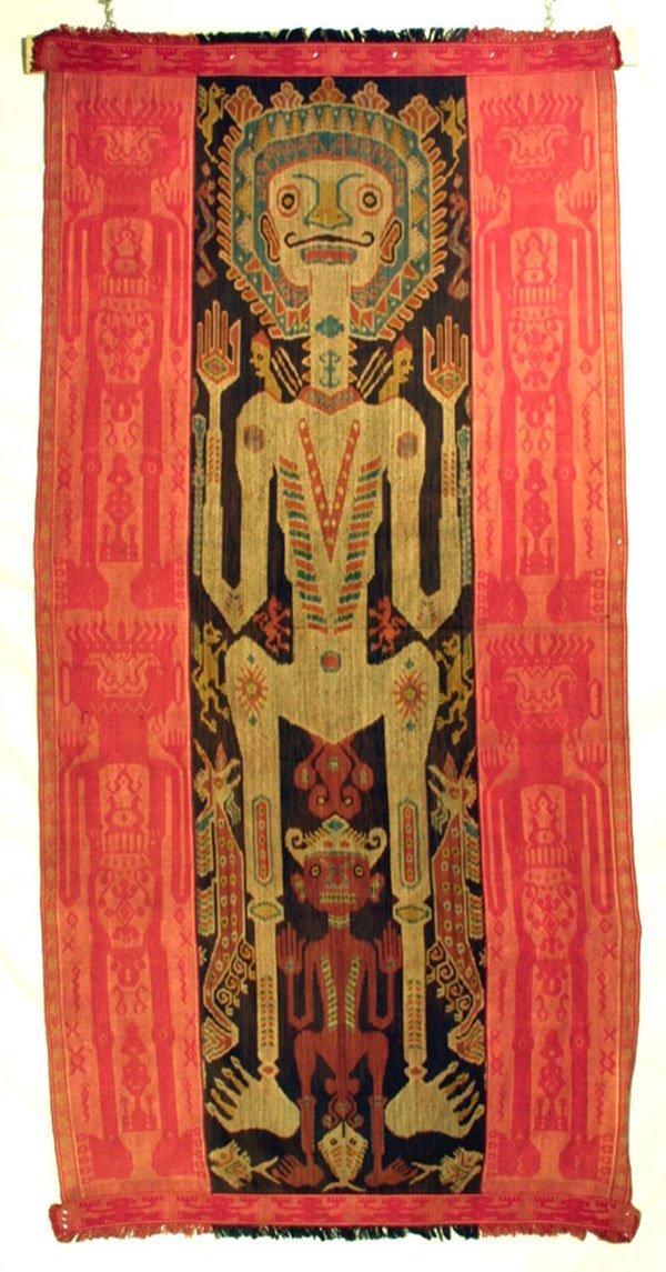 123: Somba Island Ikat Textile