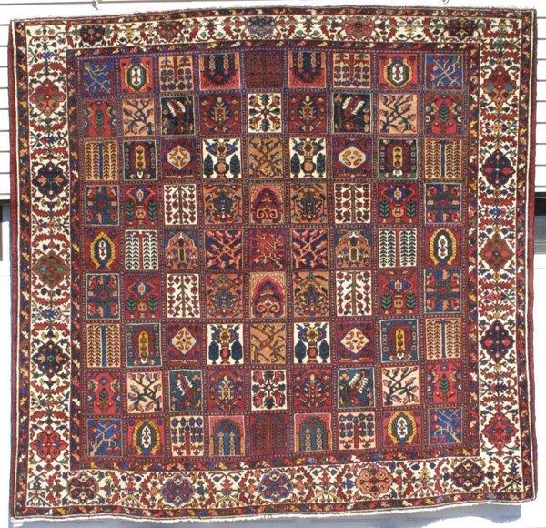 205: Bakhtiari Garden Design Rug Carpet
