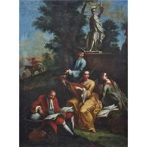 Painting, Attributed to Antonio Zucchi