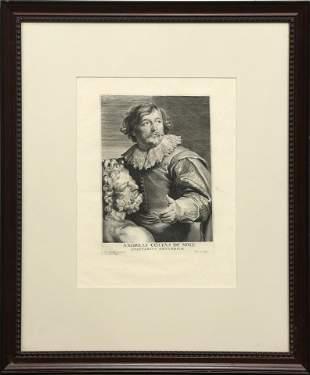 Print, Anthony van Dyck