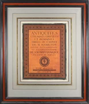 Print, After Pierre Francois Hugues, chevalier de