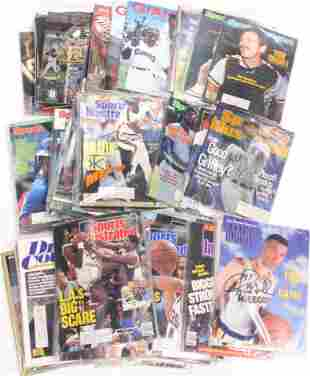 (lot of approx. 60) Collection of magazines and