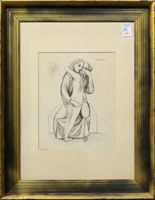 Drawing, Anton Refregier