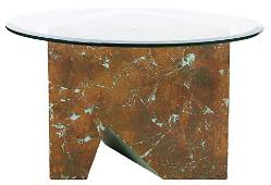 A contemporary occasional table