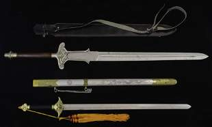 A (lot of 2) Taiwanese swords