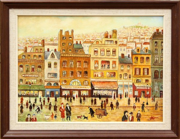 2001: Painting, Alberto Conti, Paris as of 1930