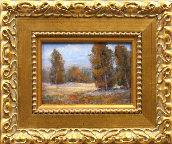 2008: Painting, Early Fall, Trees