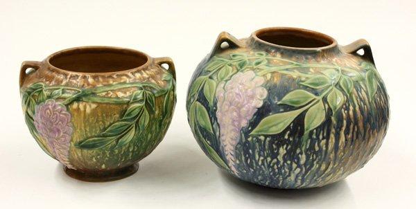 2023: Roseville Art Pottery Wisteria