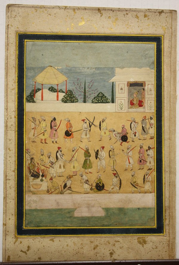 2410: East Indian Miniature Painting