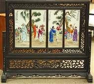2425 Chinese Enamelled Porcelain Plaques