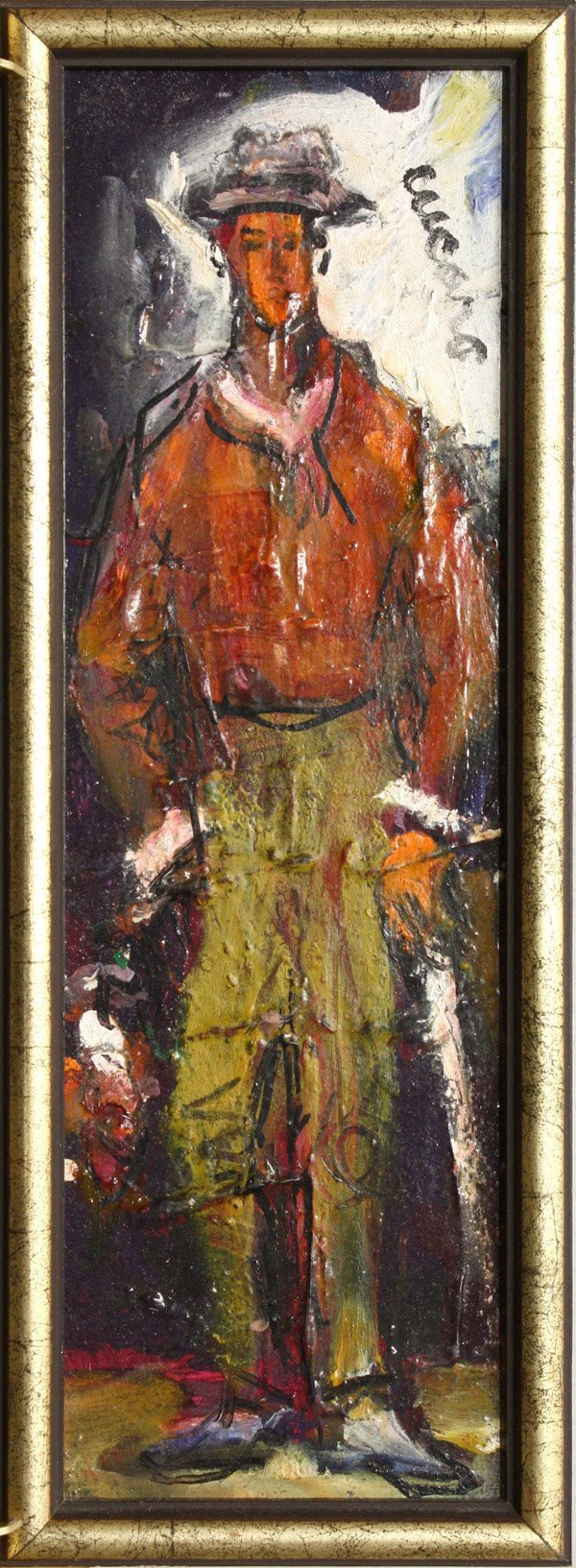2: Painting, Cucaro, Two Men