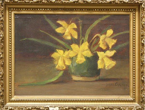 4: Painting, Hanna Carlsen, Daffodils