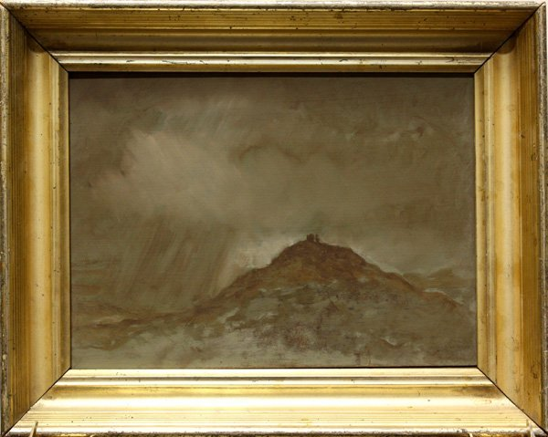 8: Painting, Mountain with Fog and Rain